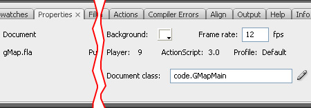 Flash Document class